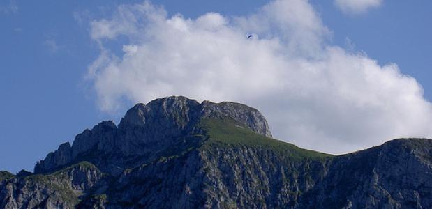 De Tegelberg in de Ammergauer Alpen - Duitsland. Foto randwill