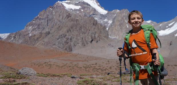 Elfjarige naar Mount Everest. Foto TopWithTyler.com