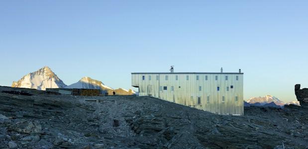 Tracuit hut © Foto's: Thomas Jantscher