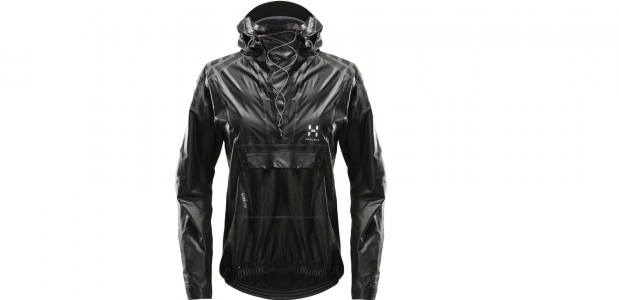 the black anorak