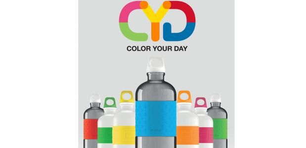 Sigg drinkfles color your day