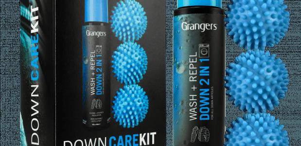 Wasmiddel voor donsjas