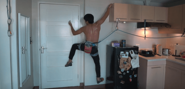 kitchenclimbing