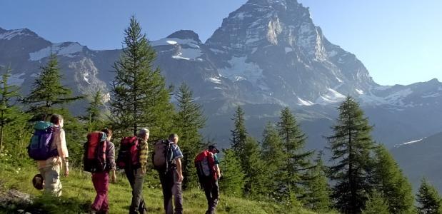 VALLE D'AOSTA TrekkingPartenzaCervino foto g.neyroz