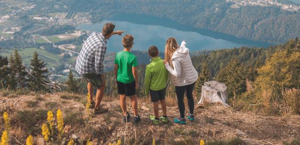 Lagoraigebergte Trentino bergwandelen