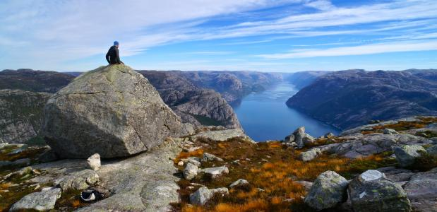 Lysefjorden. Foto A. Gruhle