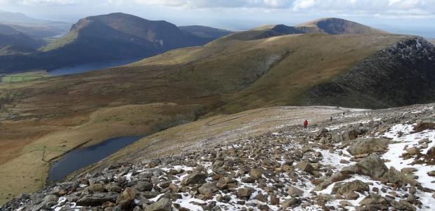 wandelen mount snowdon