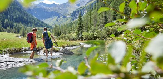 Wandelvakantie Mittersil Oostenrijk
