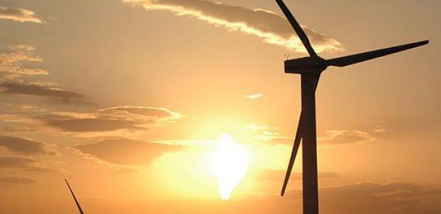 Windmolens in Xinjiang - China