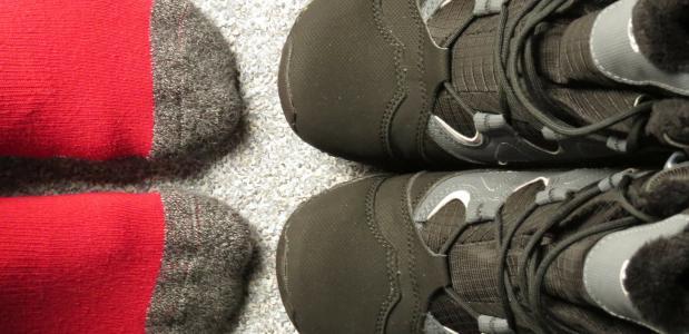 Pas je sokken in de juiste schoen