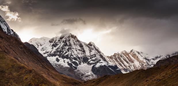 Zuidzijde van de Annapurna ©ExtremeAmbient