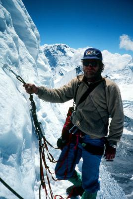 Greg Lowe Ama Dablam  1979 by Jeff Lowe