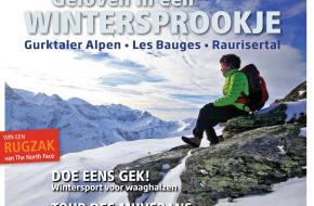 De winterse Bergen Magazine