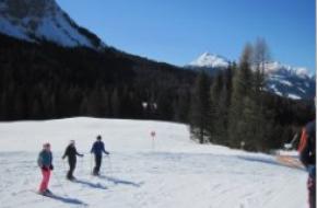 Wintersportseizoen is begonnen. foto F Visscher