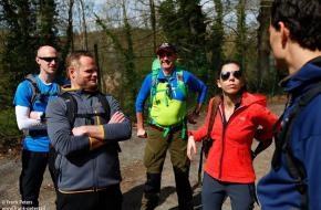 Trainingsweekend Ardennen voor Bergen Magazine Mont Blanc Expeditie. Foto Frank
