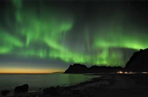 Poollicht boven Noorwegen. foto Bjørn Jørgensen/www.visitnorway.com