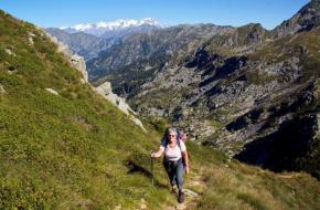 Grande Traversata delle Alpi (GTA) in delen. Foto Bert Vonk