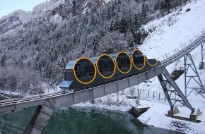 Stoosbahn steilste spoorbaan ter wereld