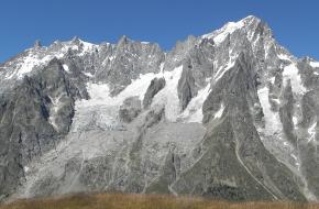 Planpincieux gletsjer