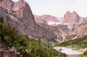 De Höllentalangerhut in 1900