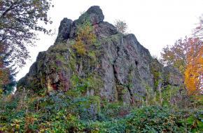 Wandelroute naar de top van de Litermont