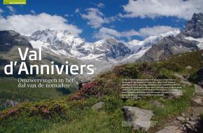 Artikel Val d'Anniviers in Bergen Magazine 2 van 2013