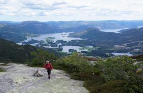 Wandelen in de Noorse Telemark