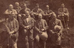 De leden van de expeditie uit 1922