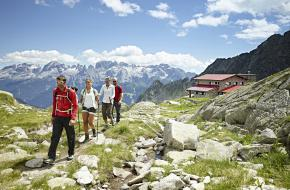 Bergwandelen in Trentino. Foto Trentino Marketing - Carlo Baroni