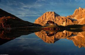 Verhaal achter de foto Baita Segantini
