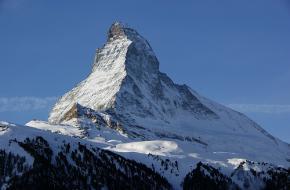 De Matterhorn - één van Europa's bekendste bergen