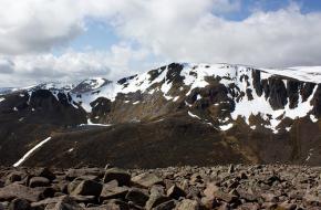 De Ben Macdui in de Schotse Hooglanden
