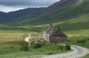 Schotland West high landway
