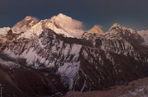 Mount Everest. Foto by borisov