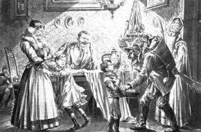 Sinterklaas en de Krampus