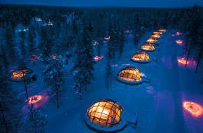 Hotel Kakslauttanen. Foto www.kakslauttanen.fi