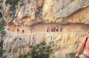 Wandelroute Mont Rebei
