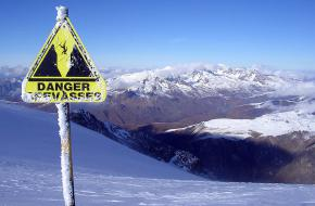 Gevaarlijke sneeuwcondities. Foto: Wiltron via Wikipedia commons