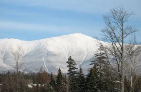 Mount Washington vanuit Bretton Woods Foto door wwoods via Wikipedia