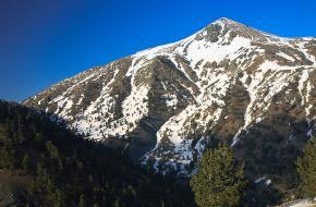 De hoogste berg van Epirus, de Smolikas