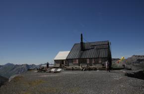 Berghut in Zwitserland. Foto Fenneke Visscher