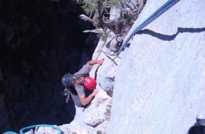 Foto: ADT 04. Klettersteigen