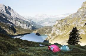 kamperen bergen