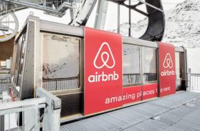 Cabine skilift Courchevel. Foto: Airbnb