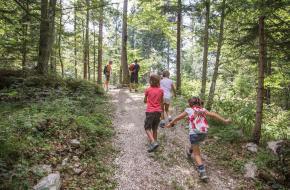 Wandelroute met kinderen Alpe Cimbra