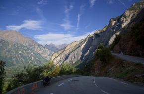 Weg naar de Alpe d´Huez. Foto Muneaki