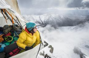 Riders on the storm. Foto via Arc'teryx