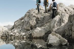 arlberg trail wandelroute oostenrijk