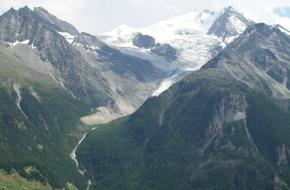 Zwitserse Alpen. Foto B.Boermans