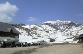 Vulkaanuitbarsting Japans skiresort
